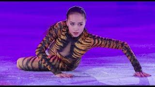 Алина Загитова Показательное выступление Тигр Чемпионат Европы 2018 Слайд шоу из фотографий