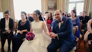 Русско-немецкая свадьба в Германии. Фрагмент церемонии.