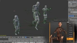 Blender 3D| Rigging | MakeHuman | Animation |