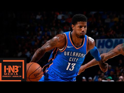 Boston Celtics vs Oklahoma City Thunder 1st Half Highlights | 10.25.2018, NBA Season