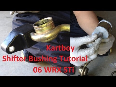 Kartboy Short Throw Shifter /& Front Rear Bushings for 02-07 WRX 5-speed