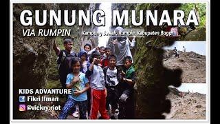 GUNUNG MUNARA Via Rumpin
