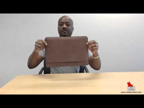 The Moko Leather Sleeve for the iPAD Pro Review