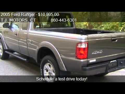 2005 ford ranger 4dr supercab edge 4wd for sale in new for Tj motors new london ct