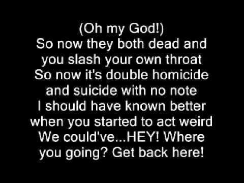 Eminem-kim lyrics