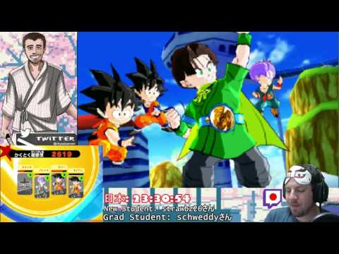 Dragon Ball Fusions (moving into the next area)