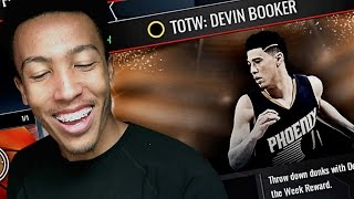 MY TWIN!!! 70 POINT 94 OVR DEVIN BOOKER (NBA LIVE MOBILE)