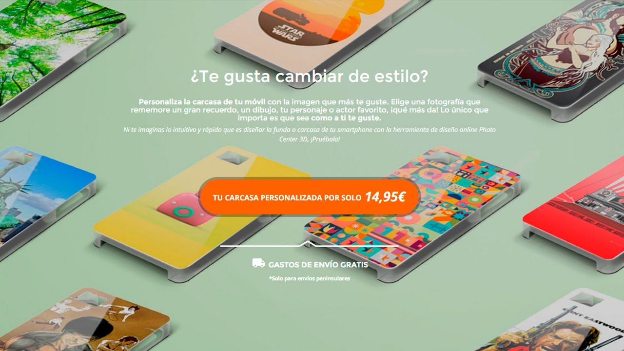 60ce97ccdc3 Carcasas personalizadas para móviles y smartphone | PcComponentes.com