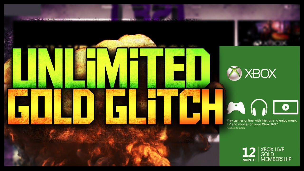 Xbox Live Free Unlimited Gold Forever Glitch September