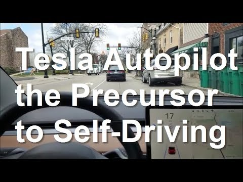 Tesla Autopilot is the Perfect Precursor to Self-Driving - Nick's Model 3 - Day 33