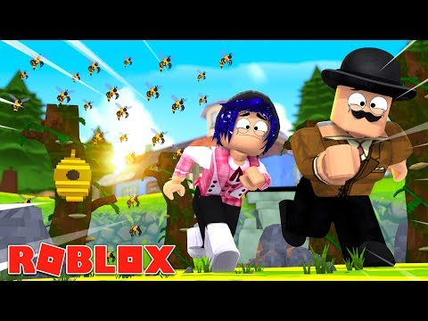 CALLUM AND CHELSEA GET NEW JOBS! Roblox Callum and Chelsea become bee keepers!