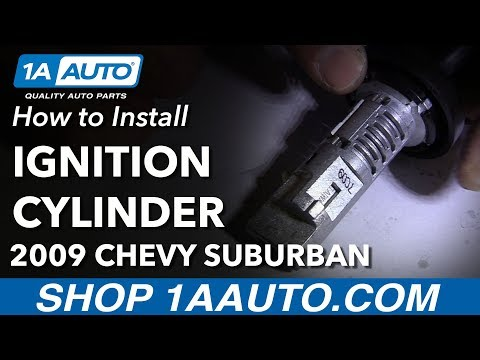How to Remove Code Install New Ignition Lock Cylinder 07-14 Chevy Suburban 1500