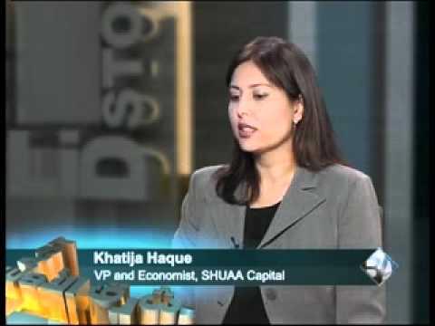 SHUAA Capital: Khatija Haque, CNBC Europe, Business Arabia Interview 15 Aug 2010