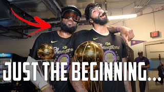 How The Lakers Set Themselves Up PERFECTLY To Three-Peat As Champions...