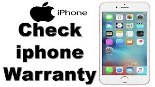 How To Check iphone Warranty | Check Apple Warranty