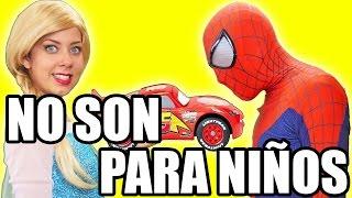 ¿Has Visto Estos Videos en YouTube? NO DEJES QUE UN NIÑO LOS VEA - Spiderman & Frozen Elsa