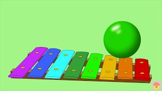 Учим цвета для самых маленьких на русском. Развивающие мультики для детей. Baby and color balls.