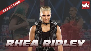Rhea Ripley comments on potentially facing Becky Lynch and Ronda Rousey in WWE