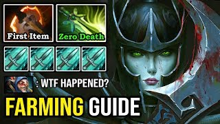 NEW FARMING GUIDE IN 2020 FIRST ITEM BATTLE FURY Destroyed Meepo Spammer with Zero Death PA DotA 2