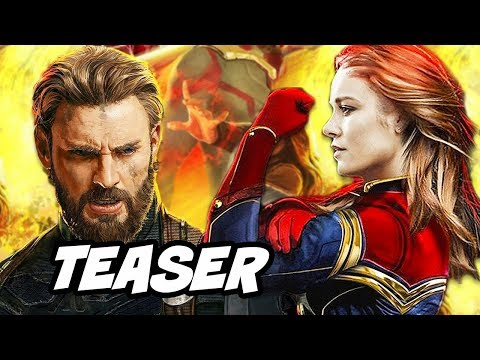Avengers Infinity War Teaser Trailer and Captain Marvel Theory