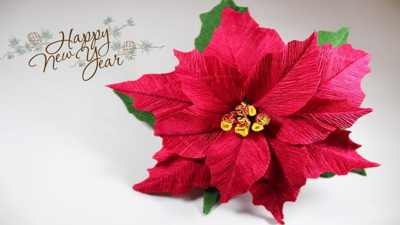 Гавайский цветок из гофрированной бумаги своими руками 110