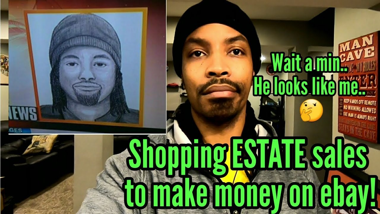 They Looking For This Guy Making Money Selling Estate Items On Ebay Youtube