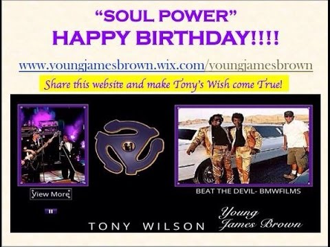 Happy Birthday Young James Brown August 14