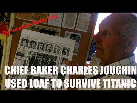 CRHnews - How Chief Baker Charles Joughin used his loaf to survive Titanic