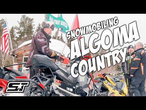 Snowmobiling Algoma Country
