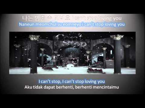 CN BLUE Can't Stop (Hangul + Romanization + Eng Sub+ Indonesian Sub)