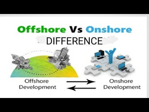 What is onshore and offshore . Onshore and offshore Kya hota