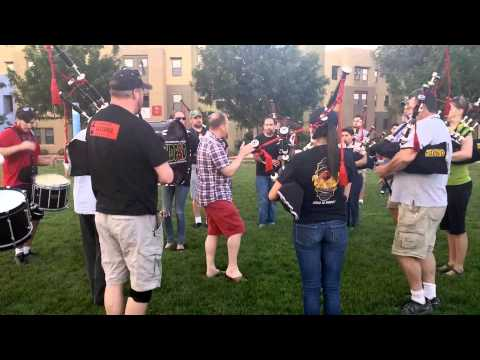 BALMORAL SCHOOL PIPE BAND WORKSHOP on Expression
