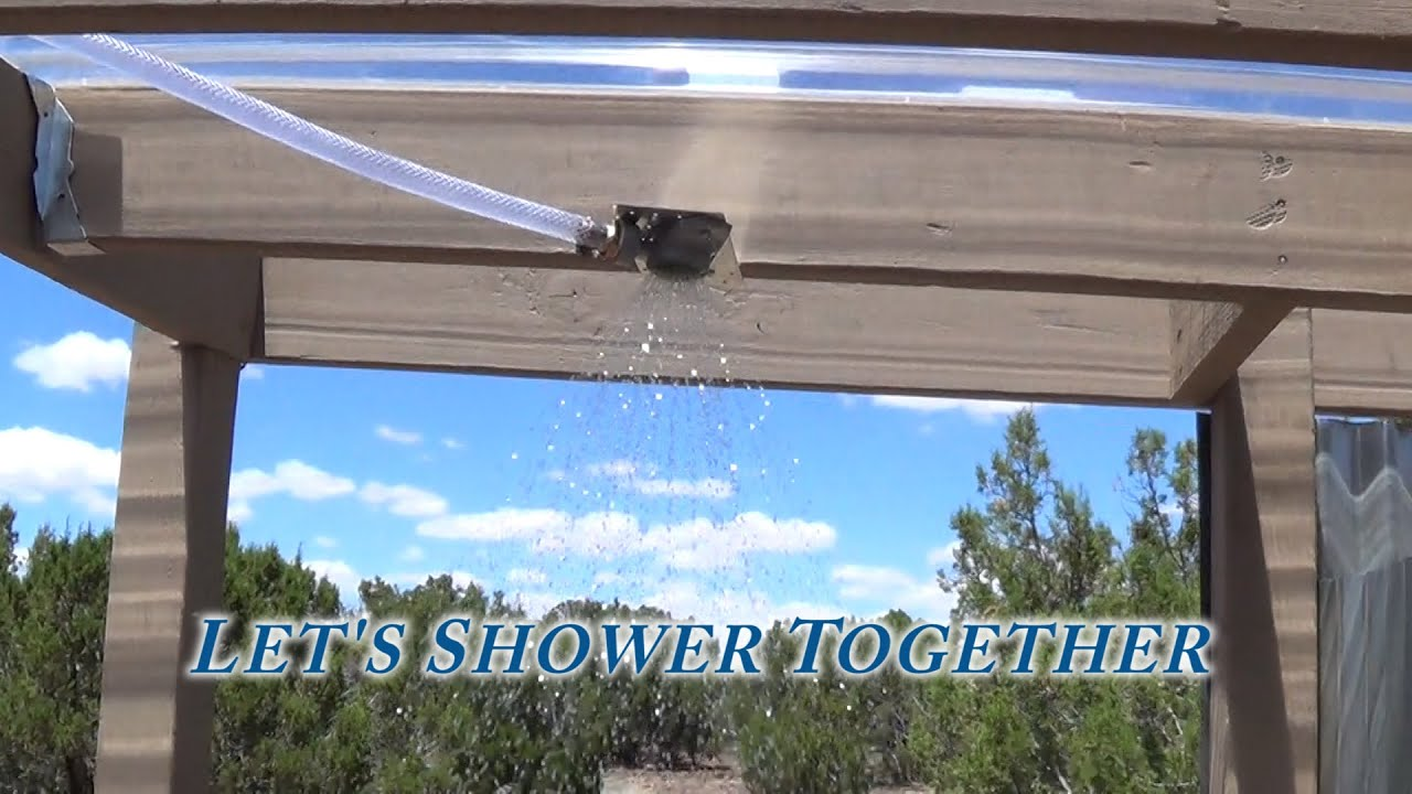 Off Grid Triple S Bath House has Water, Plumbing - Shower, Sink, Hot ...