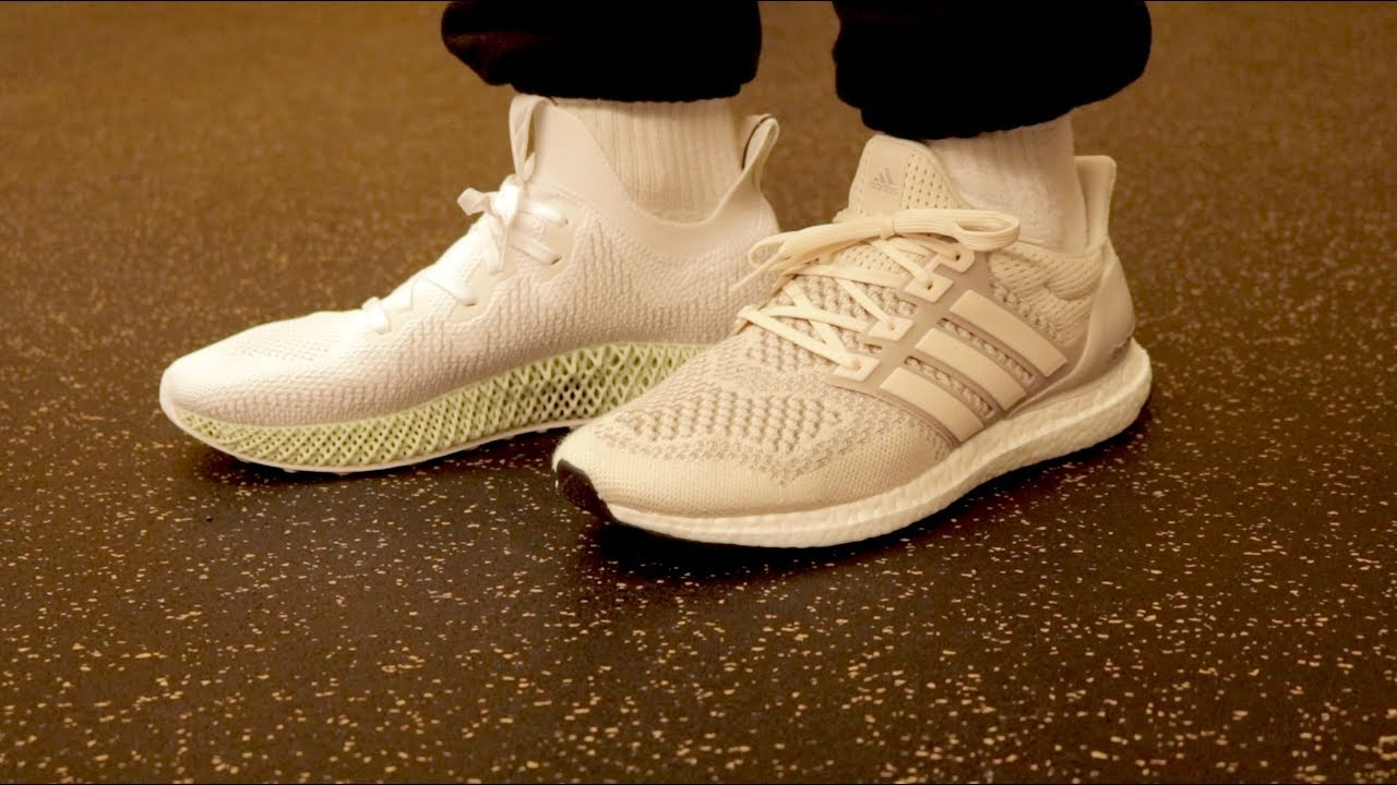 433f65ca30357 adidas 4D vs. Boost  Which Is More Comfortable  - YouTube