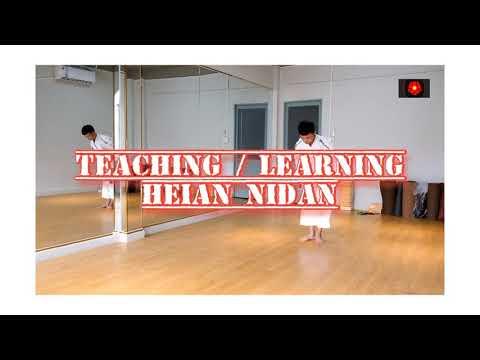Hướng dẫn bài quyền số 2 karate - Heian Nidan