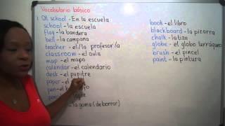 1. AT SCHOOL- EN LA ESCUELA