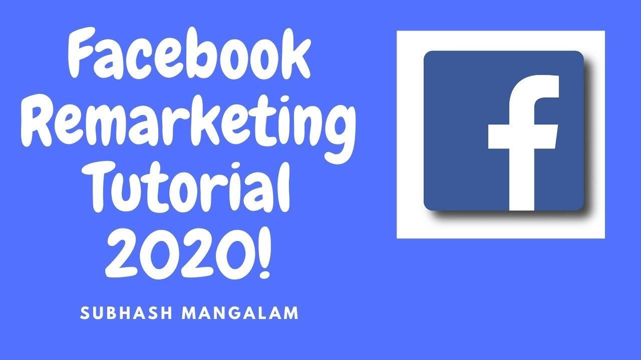 Facebook Pixel – How to do Facebook Remarketing Based on Website Traffic | Beginners Tutorial  2020