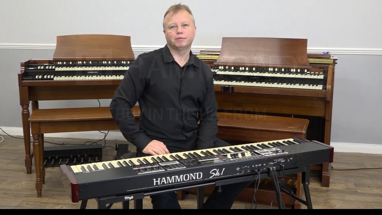 Hammond SK1-88 Demo   Piano Sounds & A Few Nice Features