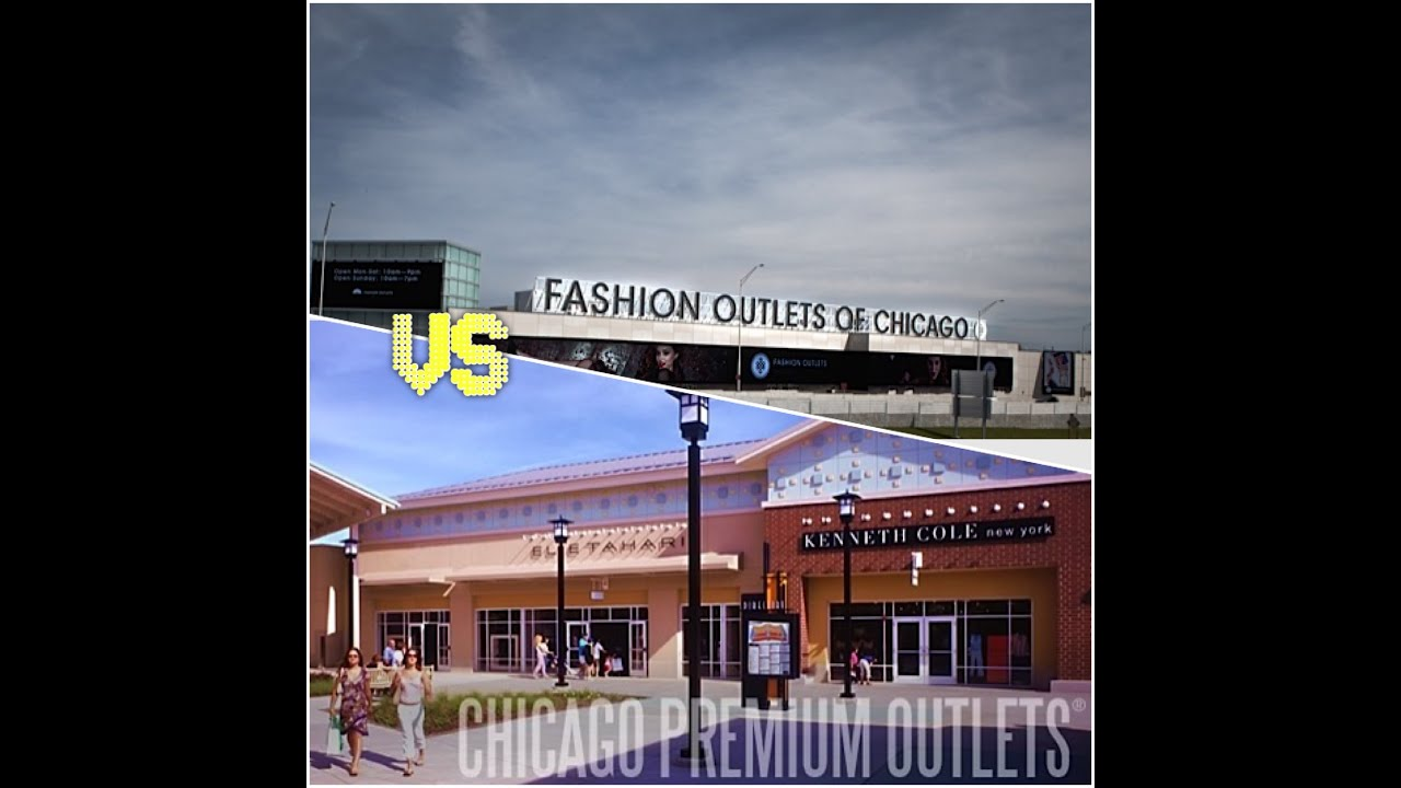 Chicago Premium Outlet Vs Fashion Outlet Youtube