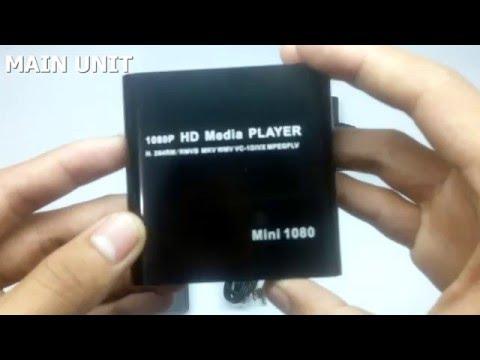 Mini media player portable - Unboxing