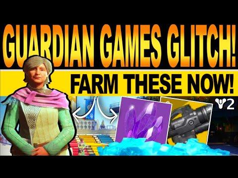 Destiny 2 | NEW GUARDIAN GAMES GLITCH! Infinite LEGENDARY SHARDS, GLIMMER & Gunsmith Materials FARM! |
