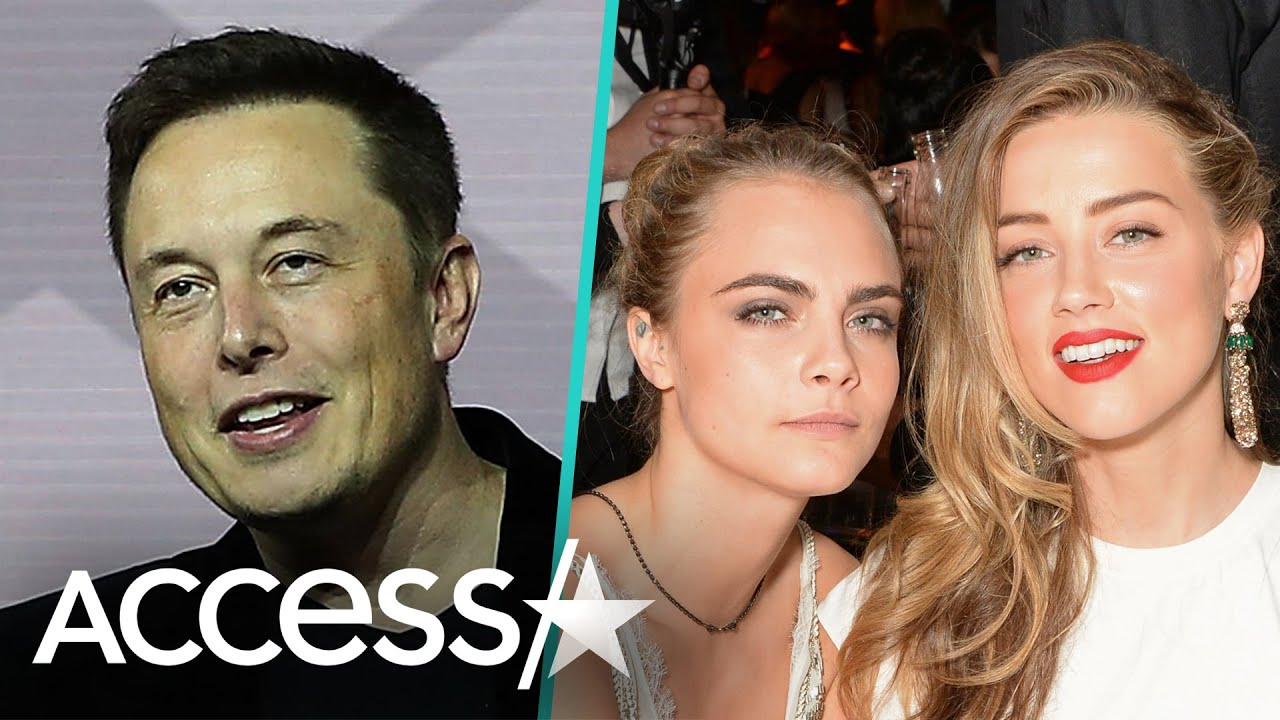 Elon Musk Denies Threesome With Amber Heard & Cara Delevingne