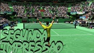 Segunda Impressão: Virtua Tennis 4 - Xbox 360