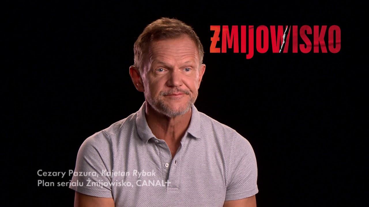 Cezary Pazura opowiada o pracy na planie serialu Żmijowisko | CANAL+