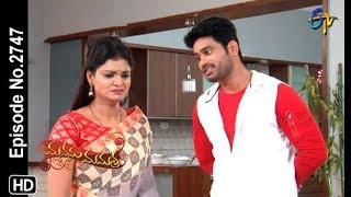Manasu Mamata   8th November 2019    Full Episode No 2747   ETV Telugu