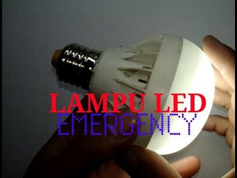 Cara Membuat Lampu Led 220 Volt Jadi Lampu Sentuh Darurat Sentuh Menyala Youtube