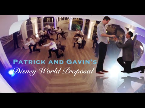 Patrick and Gavin's Disney World Proposal