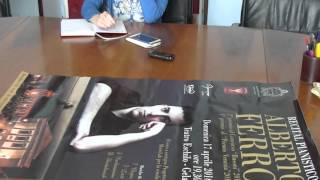Presentato il recital pianistico di Alberto Ferro
