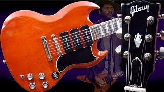 A New Signature Flying V for Gary Clark Jr?   2018 Gibson 3 P90 SG Cherry Guitar Review + Demo
