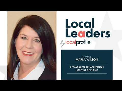 Local Profile Presents Local Leaders with Marla Wilson